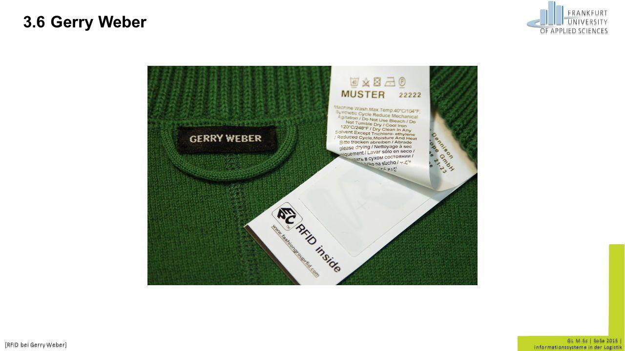 3.6 Gerry Weber [RFID bei Gerry Weber] 19